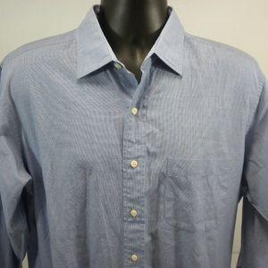 Brooks Brothers Men's 16-4 Broadcloth Shirt